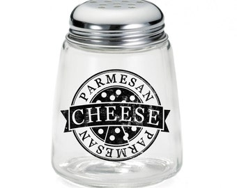Parmesan Cheese Pizza Background Custom Cheese Shaker