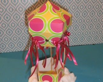 Hot Air Balloon Decoration and/or Party Favor - made to order