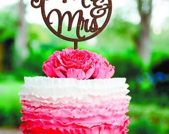 Geometric cake topper Mr and Mrs Wedding Cake Topper wood Rustic Wedding Cake Topper Woden Cake Topper mr&mrs Cake Toppers Golden Silver