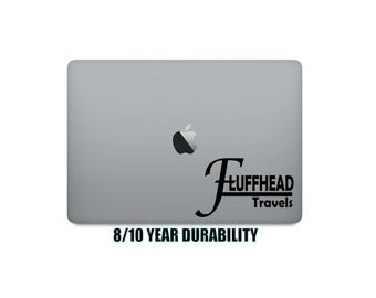 Pick Size/Color | Fluffhead Travels In/Outdoor Vinyl Decal | Window Bumper Decal | Phish Lot Style