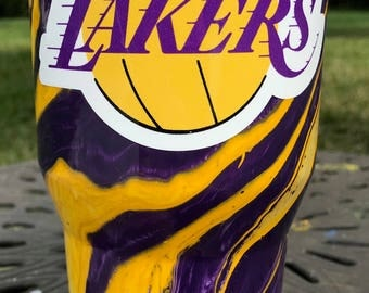 Los Angeles Lakers Painted Ozark Trail Cup