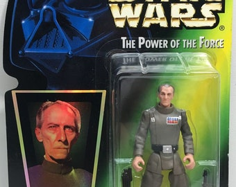 Star Wars - 1996 Grand Moff Tarkin action figure - Kenner - Mint in Box