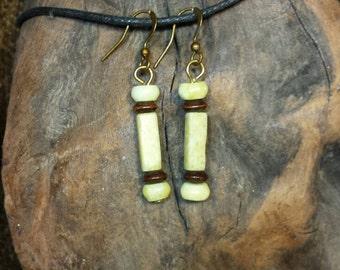 Lemon Jade Posts Earrings