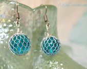 Captured Mermaid Tears - Mermaid Jewelry - Drop Earrings - Mermaid Accessories