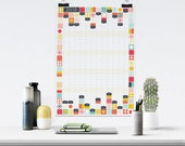 Large 2018 Wall Planner, ...