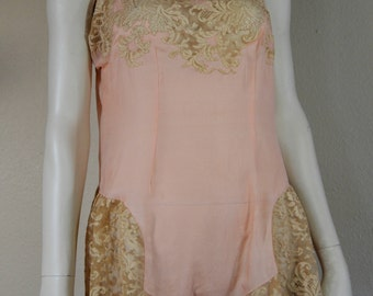 museum quality vintage silk romper