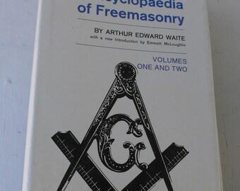 vintage book, Freemasonry,New Encyclopaedia of Freemasonry, 1970, from Diz Has Neat Stuff