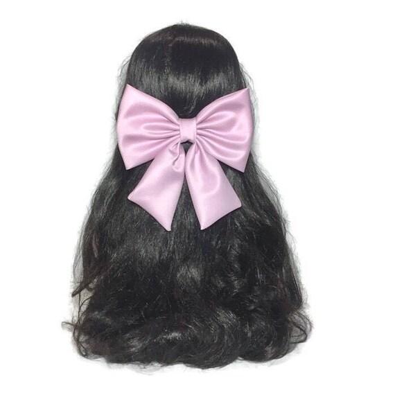 Pink Hair Bow, Pink Bow, Girls Hair Bow, Baby Pink Hair Bow, Light Pink Hair Bow, Flower Girl Hair Bow, Big Hair Bows, Pink Large Bows