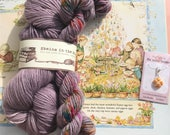 the most wonderful Easter egg tree (skein and stitch marker set) - 400 Alcott, 360 yards, 150 g