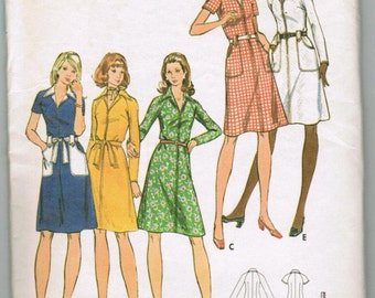 Butterick 6944 Misses and half size dress SIZE 10