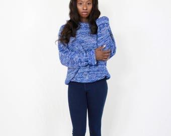 Chunky knit sweater | Etsy