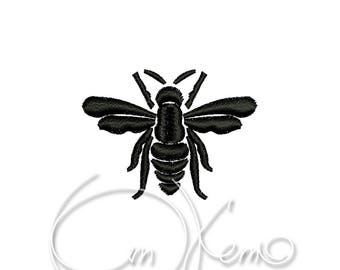 MACHINE EMBROIDERY DESIGN - Bee