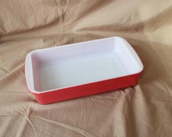 Pyrex ~ Pink Flamingo ~ 231 ~ Rectangular ~ 1 1/2 Qt. ~ Baking Dish, Casserole, Baker ~ 1952 ~ Vintage Pyrex ~ Brownie ~ Lasagna ~ Ovenware