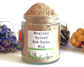 Mexican Spiced Drinking Chocolate Gourmet Hot Cocoa Mix Foodie Chef Cooking Gift
