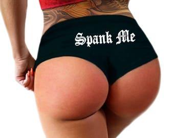 Spank Me Panties, Womens Underwear