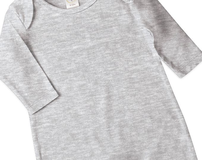 Newborn Coming Home Outfit, Newborn Boy Coming Home, Newborn Girl Coming Home, Minimalist Nursery, Heather Gray Romper, Grey, Tesababe