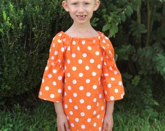 Fall Dress - Thanksgiving Dress - Toddler Fall Dress - Fall Baby Dress - Girls Thanksgiving Dress - Girls Thanksgiving Outfit