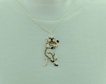 White Otter Necklace