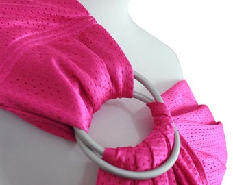 Baby water ring sling for newborn Infant mesh sling use wet or dry