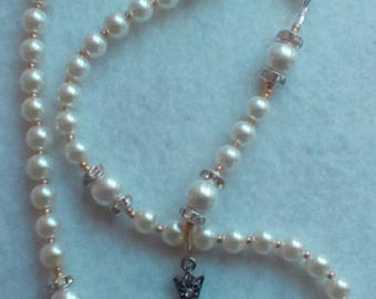 Child's Pearl Rosary