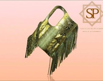 Python Bag New-York New-York Gold