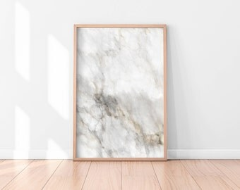 Marble Wall Art, Marble Digital Print, Grey Wall Art, Printable Wall Art, Digital Download, Instant Download Printable Art, Printable Poster