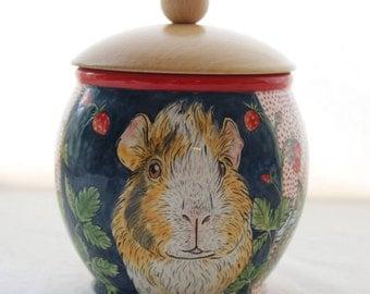 small custom quote pet urn / unique pet urn / cremation urn / 0,5l