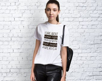 Protest Shirt Anti Trump Tshirt Feminism Tee Woman Shirt Funny T Shirt Feminist Shirt For Woman Tees With Sayings T-shirt Graphic Tee YP1029