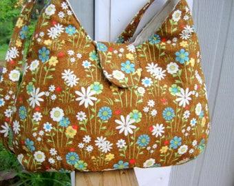 WOMEN'S HANDBAGS, Women's Purses, Floral Bags, Shoulder Bags, Fabric Bags, Handmade,  Ready To Ship