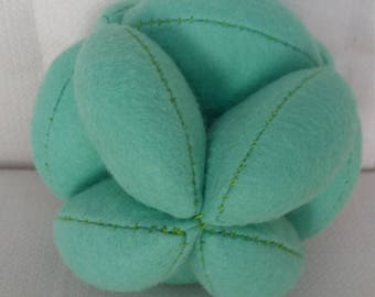 Green Puzzle Ball
