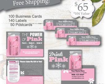 plexus, plexus business card, plexus postcards, plexus swag, slim Sample Postcards, plexus labels