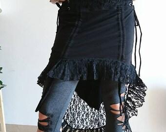 Psytrance Bohemian skirt