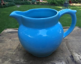 Little Blue Creamer Pitcher