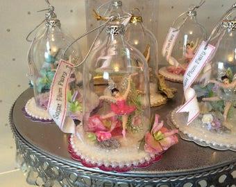 Sugar Plum Fairy / Ballerina Ornament/ Favor