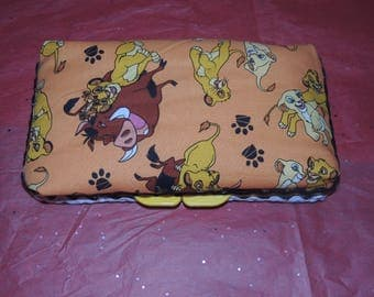 Lion King Baby Wipe Case