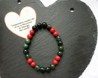 Gemstone Bracelet/Gift for her/Reiki Bracelet/Chakra Jewelry/Healing Bracelet/Crystal Bracelet/Handmade Jewellery/Energy Bracelet