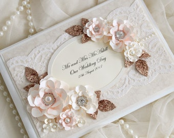 Rose gold wedding etsy for Decoration rose gold