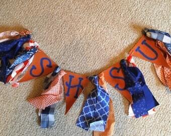 SHSU Sam Houston State Bearkats Rag Banner