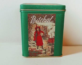 Vintage Reproduction Witch Hazel Tin // Great Condition //