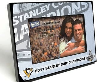 2017 NHL Stanley Cup Champions 4x6-inch Picture Frame - Pittsburgh Penguins