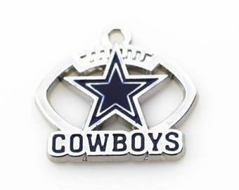 Dallas Cowboy Charms