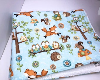 Woodland Creatures Drying Mat, Baby Changing Mat, Drain Mat, Dish Mat, Camper Dishes Kitchen Dish Mat, Dish Towel Drying Mat, Tea Towel