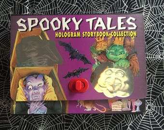 SPOOKY TALES - 4-Pack Hologram Storybook Collection by A.J. Wood