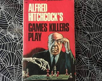 Alfred Hitchcock's GAMES KILLERS PLAY (Paperback Anthology)