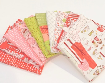 SALE!! Fat Quarter Bundle Just Another Walk Into the Woods by Stacy Iset Hsu for Moda- 11 Fabrics