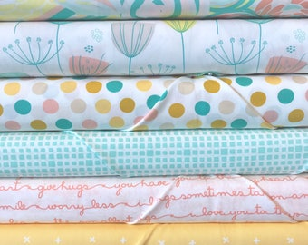 Fat Quarter Bundle Reverie Fusions by AGF Studio -6 Fabrics