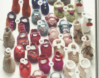 All my pretty slippers alpaca, cotton or wool