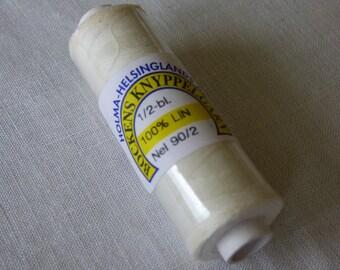 Linen Bockens half white number 90/2