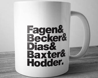 Steely Dan Rock Band Mug