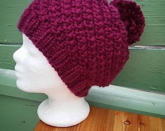 Knit Beanie * wool * Cap * Beanie * hand knitted
